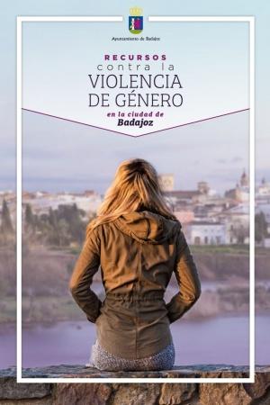 TRÍPTICO CONTRA LA VIOLENCIA DE GÉNERO