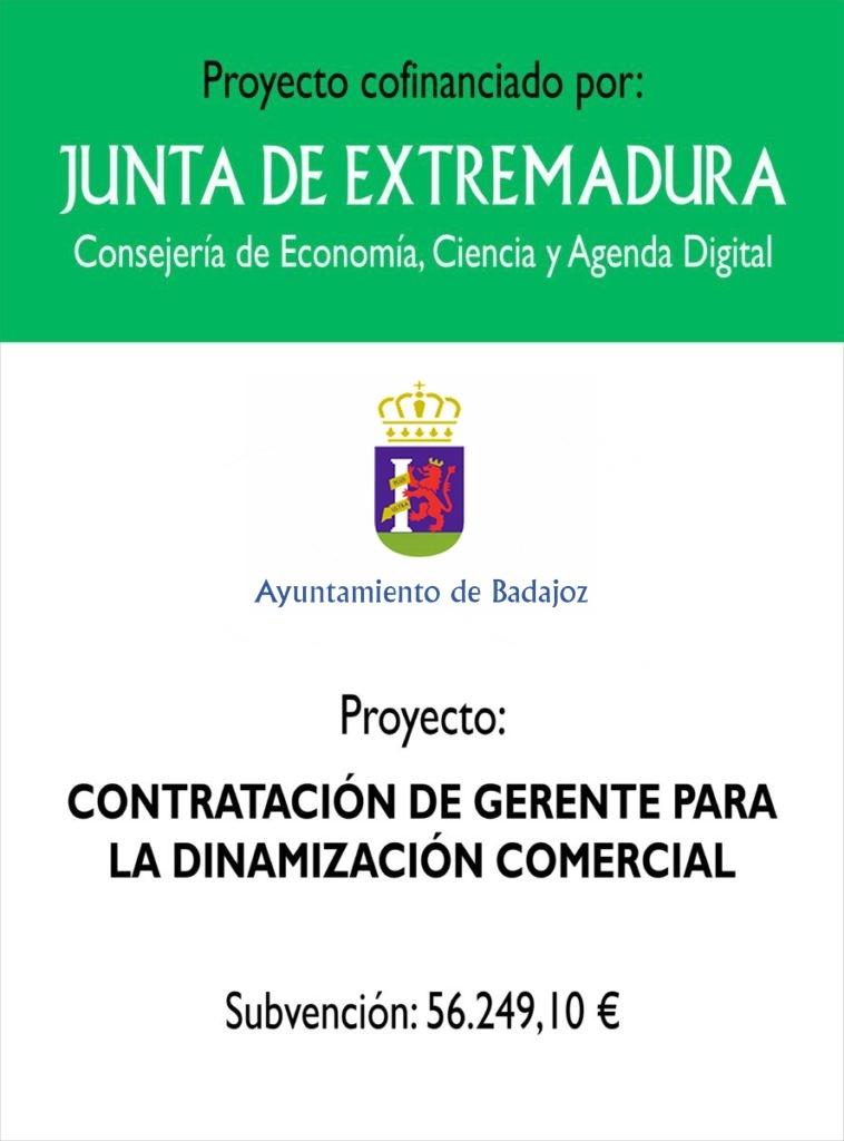 Contrataci�n de una Gerente de Dinamizaci�n Comercial en Badajoz