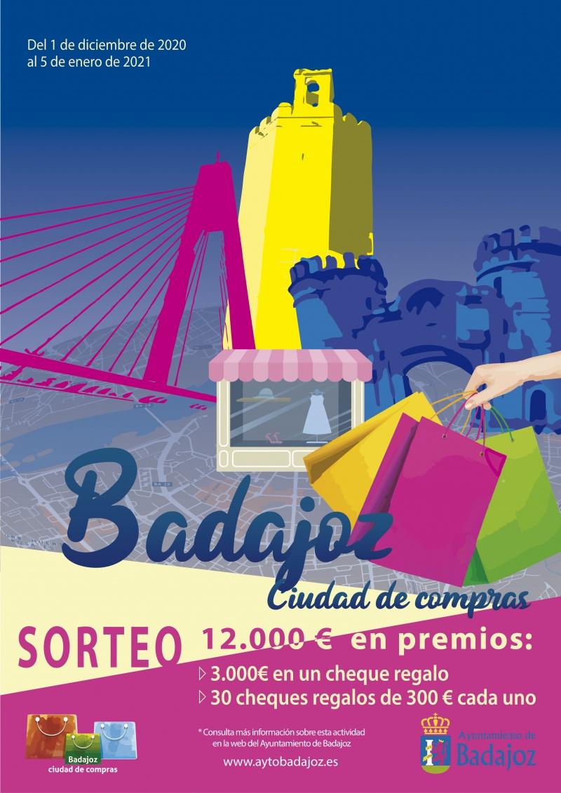 SORTEO BADAJOZ CIUDAD DE COMPRAS. Bases.