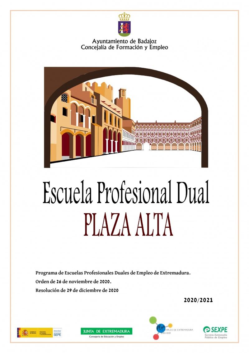 CARTEL PROYECTO E.P. DUAL PLAZA ALTA.