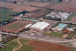 Complejo Deportivo La Granadilla. Vista Aerea