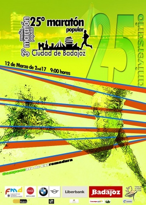 25º Maratón y 3º Medio Maratón Popular Ciudad de Badajoz