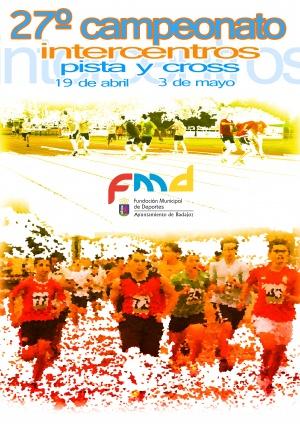 Cartel Intercentros de Pista y Cross