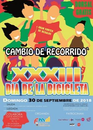 XXXIII DIA DE LA BICICLETA 2018
