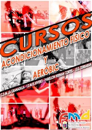 CARTEL CURSOS ACONDICIONAMIENTO FÍSICO