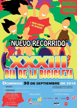 XXXIII DÍA DE LA BICICLETA