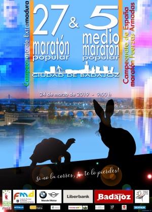 Cartel Maratón - Medio Maratón 2019