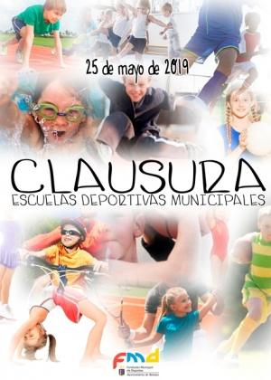 Cartel Clausura Escuelas Deportivas Municipales 2019