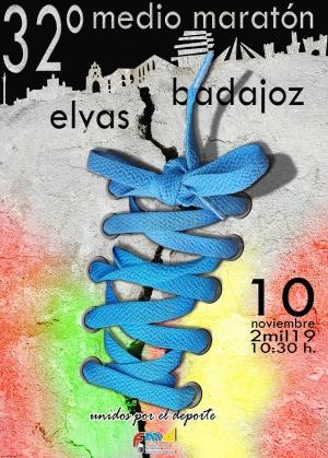 32º Medio Maratón Elvas-Badajoz 2019