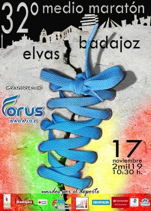 MEDIO MARATÓN ELVAS-BADAJOZ 2019