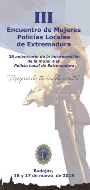 Encuentro Mujeres Policia Local de Extremadura