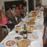 GEVORA 5/10/09 VII MES DEL MAYOR. EXPOSICIÓN DE MANUALIDADES Y CONCURSO DE COCINA EXTREMEÑA