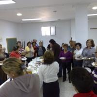 MARÍA AUXILIADORA 23/10/09. VII MES DEL MAYOR. EXPOSICIÓN DE MANUALIDADES Y CONCURSO DE PLATOS