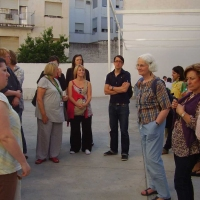 [26-05-10] Visita monitores de mayores de Europa a Badajoz. Centro de San Fernando. Proyecto Increase de Fundecyt