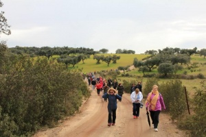 Ruta Senderismo Mayores Olivenza Villareal
