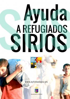 Ayuda a refugiados sirios
