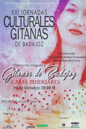 Cartel XXI Jornadas Culturales Gitanas de Badajoz
