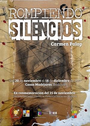 Cartel Rompiendo Silencios (Carmen Palop)