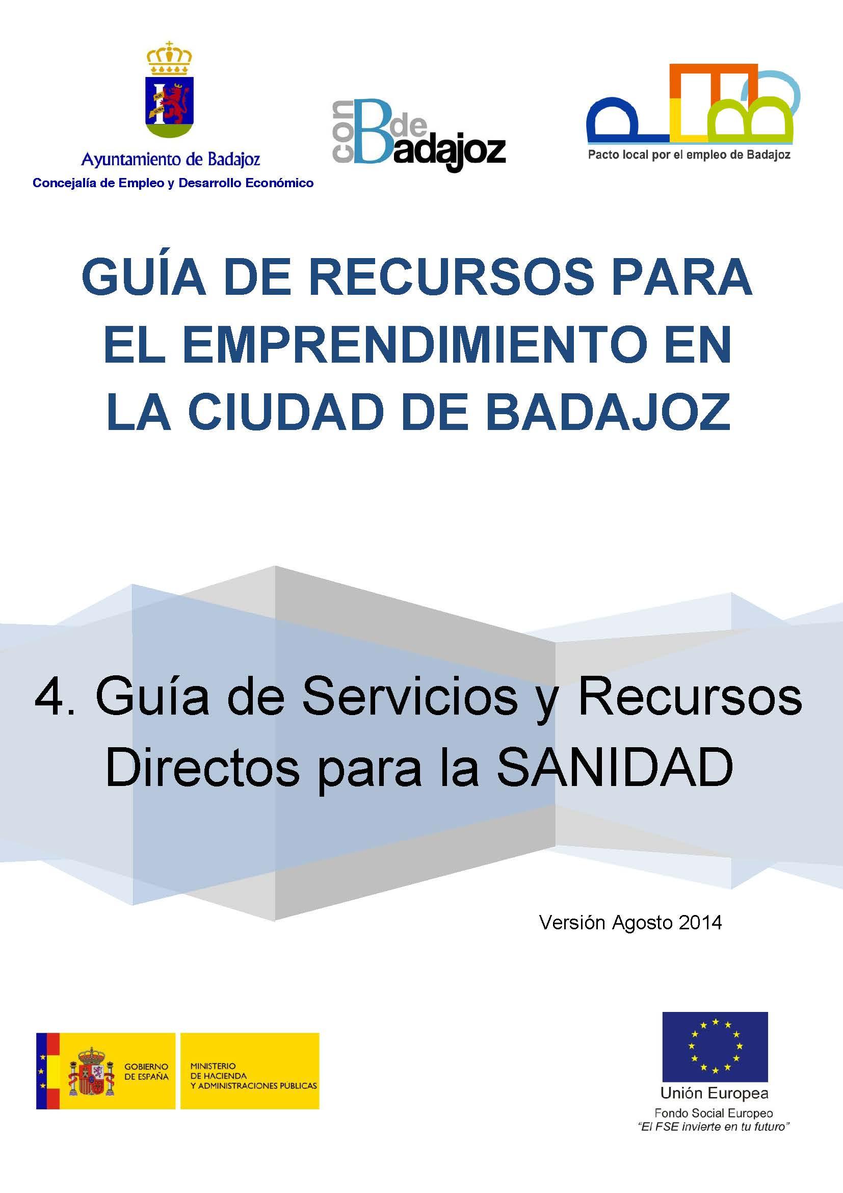 Guía de recursos y servicios directos para la sanidad
