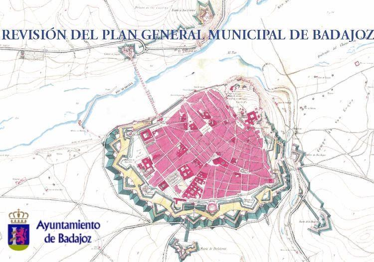 Mapa De Badajoz Capital.Ayuntamiento De Badajoz