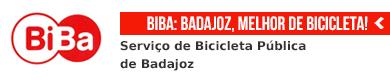 Badajoz, melhor de bicicleta