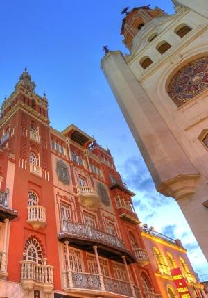 Torre de la Soledad y Giralda